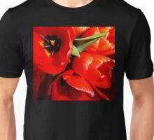 Flaming Tulips Unisex T-Shirt