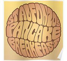 St. Alfonzo's Pancake Breakfast Poster