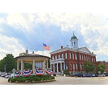 Exeter, New Hampshire, Town Hall Photographic Print