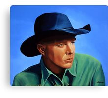 Garth Brooks painting Canvas Print