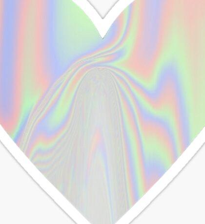 Vinyl Heart Sticker
