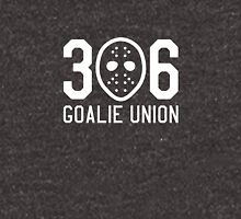 306 Goalie Union (White) Unisex T-Shirt