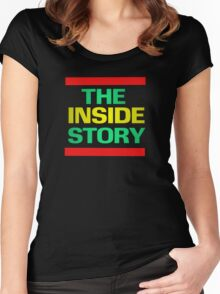 The Inside Story (Band Shirts - Alternate Design) Women's Fitted Scoop T-Shirt