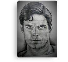 Superman, Christopher Reeves Canvas Print