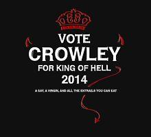 Vote Crowley (white) Unisex T-Shirt