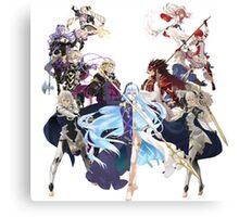 Fire Emblem Fates - Hoshido VS Nohr Canvas Print