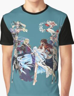 Fire Emblem Fates - Hoshido VS Nohr Graphic T-Shirt