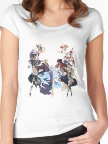 Fire Emblem Fates - Hoshido VS Nohr Women's Fitted Scoop T-Shirt