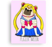 Puglor Moon Canvas Print