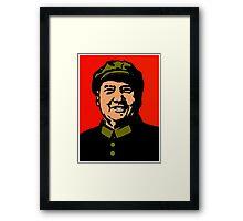CHAIRMAN MAO-3 Framed Print