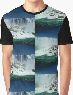 America falls, Niagara Graphic T-Shirt