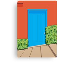 A San Francisco Door Canvas Print