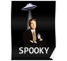 Agent Spooky Mulder Poster