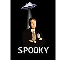 Agent Spooky Mulder Photographic Print