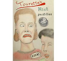 Tourette's mint pastilles Photographic Print