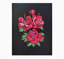 """Red Roses-Oil on canvas-14""""H by 11""""W Unisex T-Shirt"""