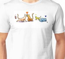 Cats n Hearts Unisex T-Shirt
