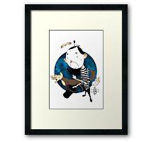 Mimes in da Space Framed Print