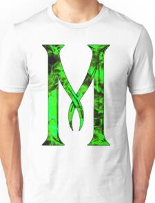 M is for Maleficent  Unisex T-Shirt