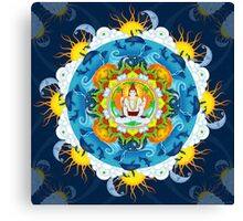 Shiva's Stillness Canvas Print