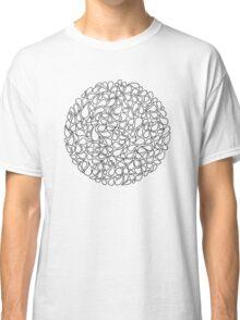 Circular Water Blobs Classic T-Shirt