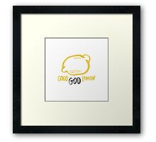 Good God Lemon! - 30 Rock Framed Print