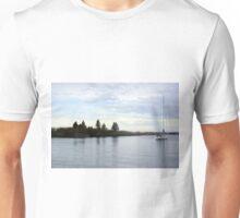 Sailboat On Lake Superior Unisex T-Shirt