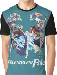 Fire Emblem Fates - Hoshido VS Nohr (Alt.) Graphic T-Shirt