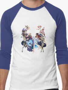 Fire Emblem Fates - Hoshido VS Nohr (Alt.) Men's Baseball ¾ T-Shirt
