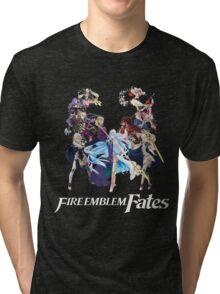 Fire Emblem Fates - Hoshido VS Nohr (Alt.) Tri-blend T-Shirt