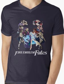 Fire Emblem Fates - Hoshido VS Nohr (Alt.) Mens V-Neck T-Shirt