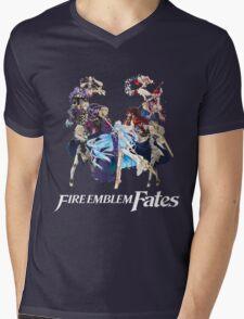 Fire Emblem Fates - Hoshido VS Nohr (Alt.) Mens V-Neck T-Shirt