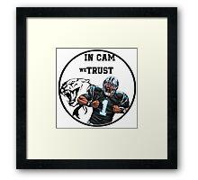 Cam Newton Framed Print