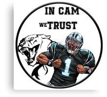 Cam Newton Canvas Print