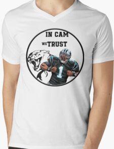 Cam Newton Mens V-Neck T-Shirt