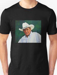 George Strait painting T-Shirt