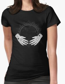 New Moon Womens Fitted T-Shirt