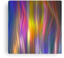 Colour streams Canvas Print