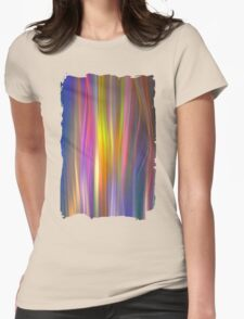 Colour streams Womens Fitted T-Shirt