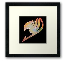 Fairy Tail Nebula Framed Print