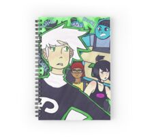 Danny Phantom Spiral Notebook