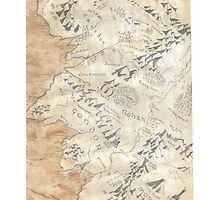 Lord Of The Rings Map - Hand Drawn * Notebooks and Journals added * by lloydj3