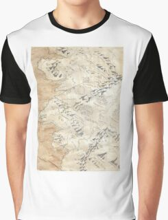 Lord Of The Rings Map - Hand Drawn * Notebooks and Journals added * Graphic T-Shirt