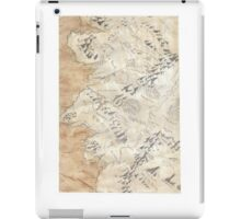 Lord Of The Rings Map - Hand Drawn * Notebooks and Journals added * iPad Case/Skin