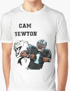 Cam Newton Panthers Graphic T-Shirt
