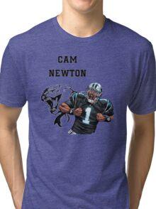 Cam Newton Panthers Tri-blend T-Shirt