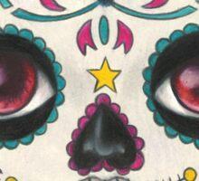 Sugar Skull Girl Sticker