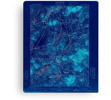 New York NY Saranac 148424 1904 62500 Inverted Canvas Print
