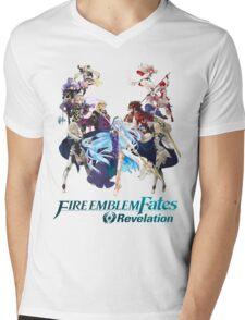Fire Emblem Fates - Hoshido & Nohr (REVELATION) Mens V-Neck T-Shirt