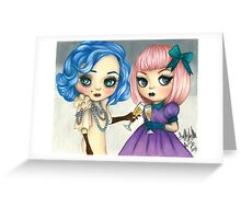 Rose and Serenity Greeting Card